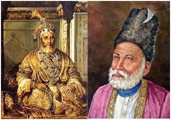 Bahadur Shah Zafar and Galib