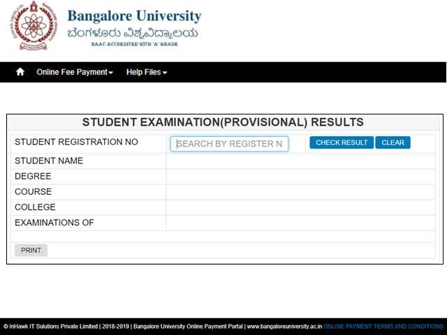 Bangalore University UG, PG Results 2019 declared, Check