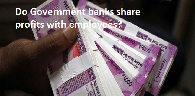 Do Government Banks Share Profits with Employees