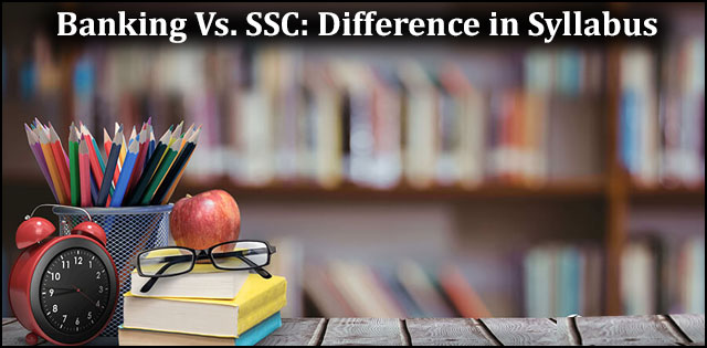 SSC vs. banking syllabus