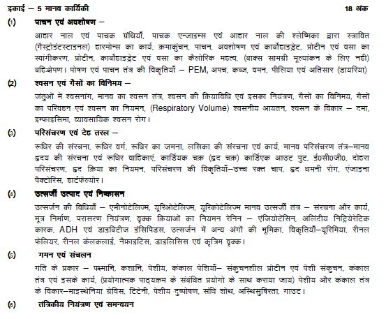 UP Board class 11th revised syllabus