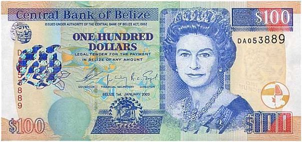 belize currency note