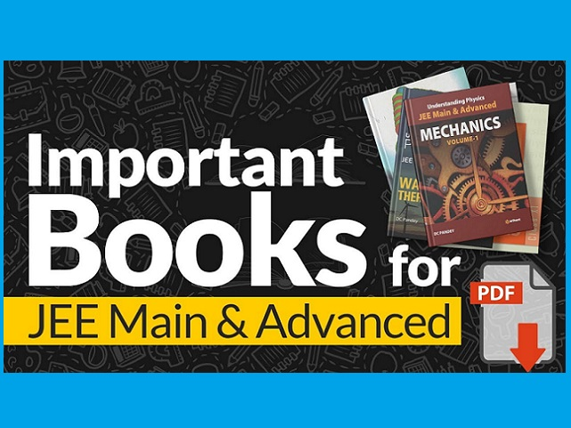 Best Books for JEE Main & Advanced 2020 - 2021