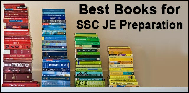 SSC JE preparation books