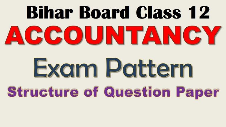 Bihar Board accountancy subject