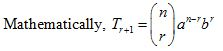 Binomial Theorem, Permutation, Probability