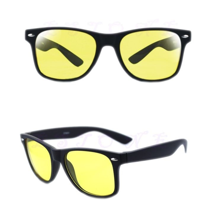black goggles of bodyguards