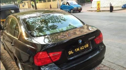 black number plate india