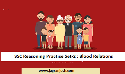 ssc reasoning blood relations