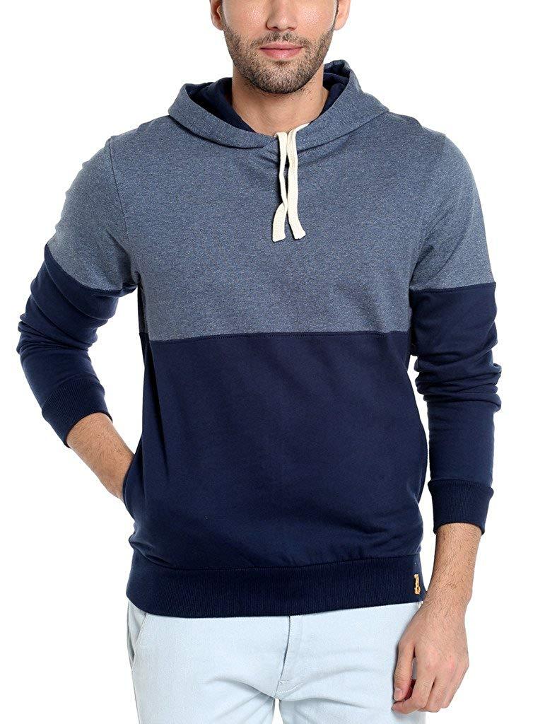 Blue sweatshirt for men