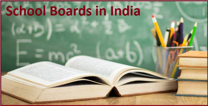 CBSE, CISCE, IB, IGCSE or State board