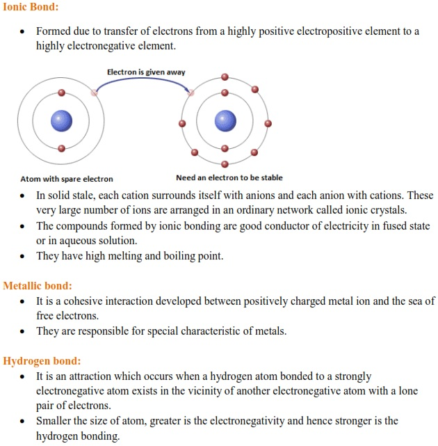 WBJEE Chemical Bonding Concepts 2