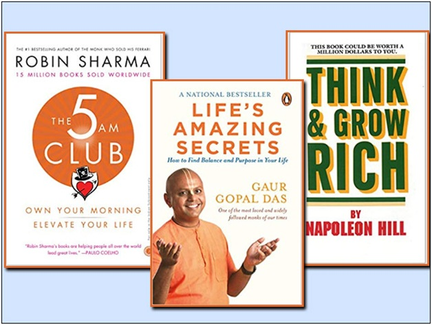 It takes 3 books to make you successful in life