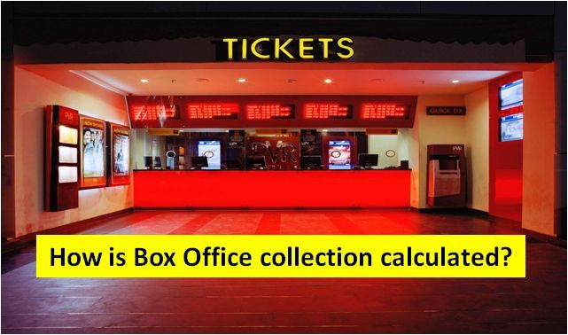 How is box office collection calculated