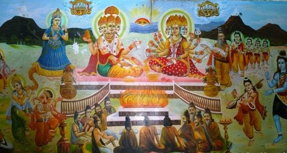 Story of Brahma Temple