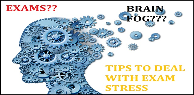Tips to deal with brain fog during exams