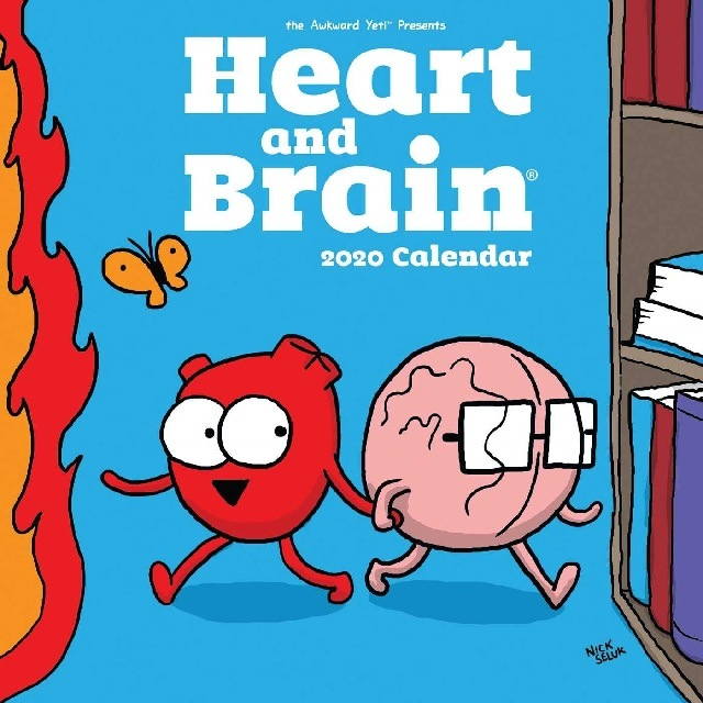 Heart Brain Calendar 2020