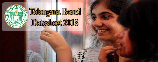 BSE Telangana Class 10th (SSC) Exam Datesheet Declared