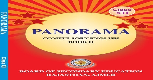 Rajasthan Board Class 12 English Book