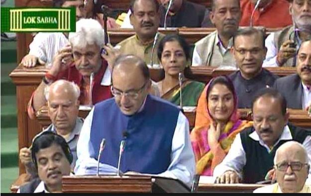 budget presentation in indi