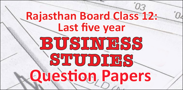 Business Studies question papers