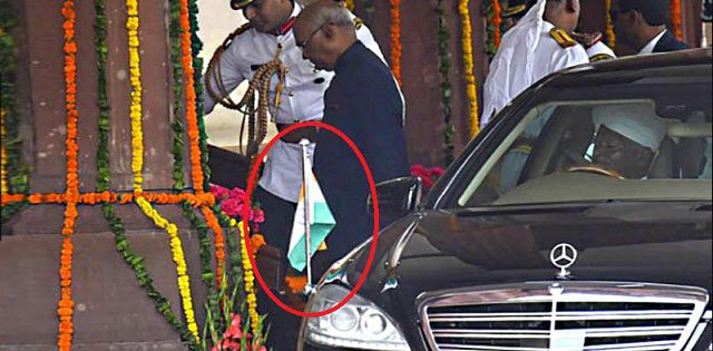 Car of Indian President