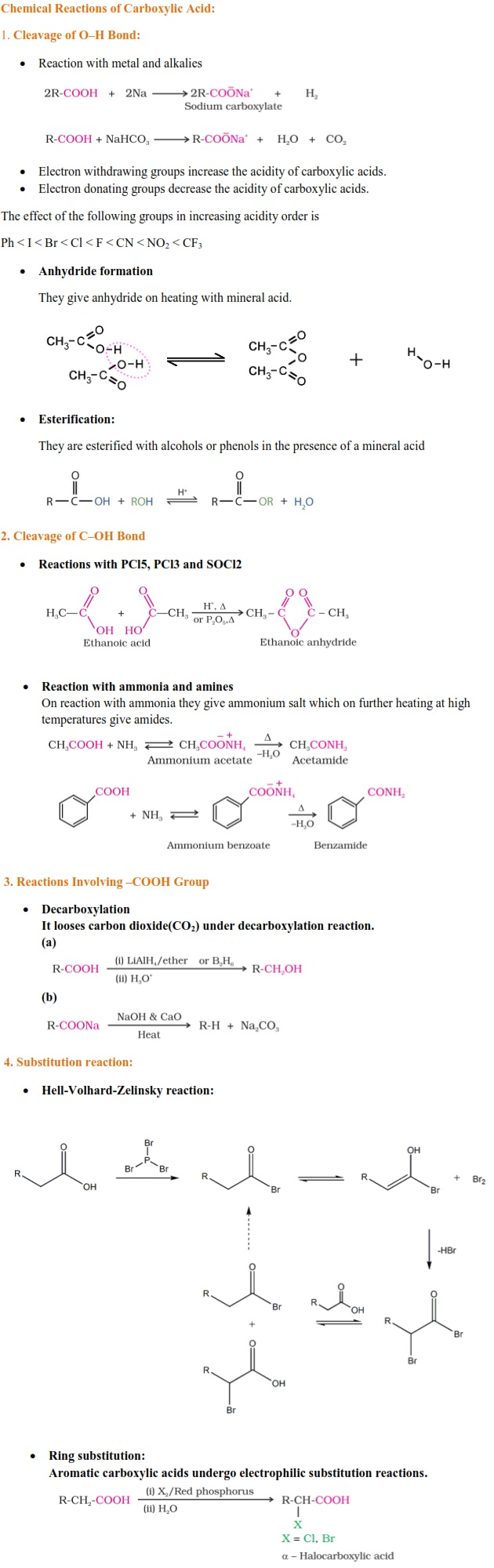 UPSEE/UPTU Aldehydes and Ketones