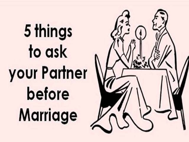 Career or Marriage: 5 things to discuss with your partner