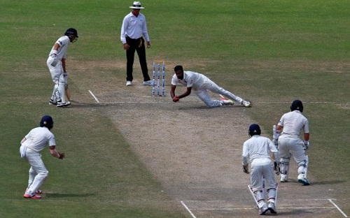caught and bowled