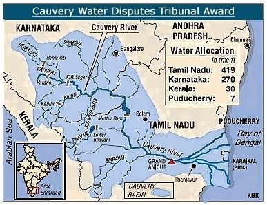 Cauvery Water Dispute: Reasons and Consequences