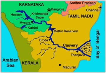 kaveri river water dispute essay Kaveri river water dispute kaveri river flows in south karnataka and then to tamil nadu the sharing of waters of the river kaveri has been the source of a serious.