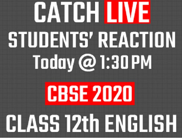 CBSE 12th English Board Exam 2020: Check Paper Analysis, Review, Students' Reaction & Updates