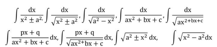 integrals class 12 topic