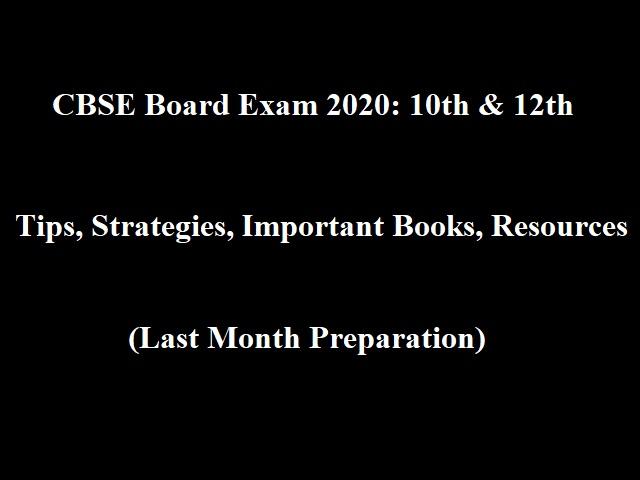 CBSE Board Exams 2020