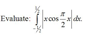 CBSE Class 12 Maths Practice Paper, Question based on Definite Integration