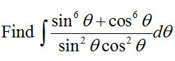 Question 7 of CBSE Class 12 Practice Paper based on Integration