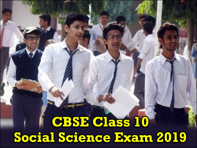 CBSE Class 10 Social Science Paper Analysis 2019