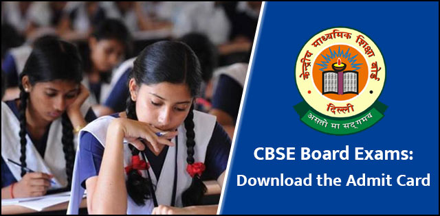 CBSE board exams 2018: Admit card and Preparation Strategy