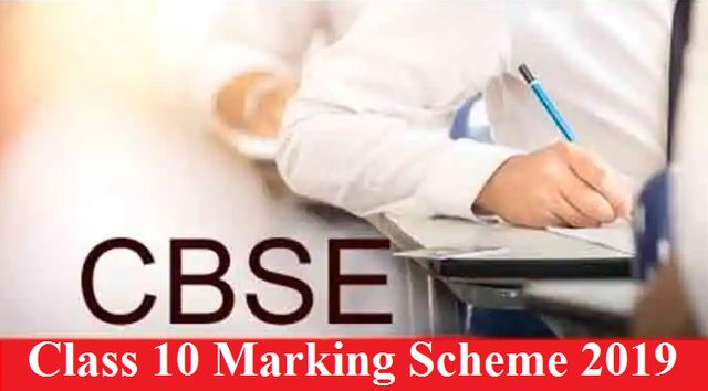 CBSE Marking Scheme for Class 10 Board Examination 2019: Download in PDF