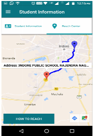 exam centre route