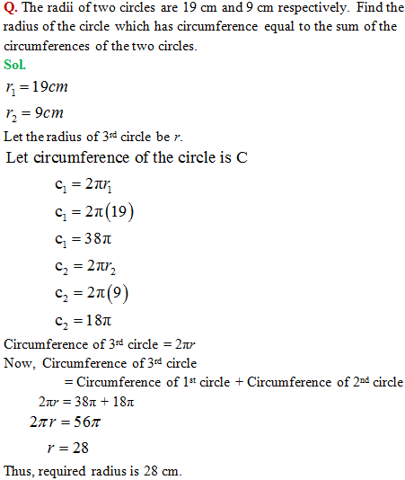 Cbse class 10 mathematics area related to circles this will help the students with easy and simple understanding of the concept and technique employed in solving this ncert solution as per the cbse marking ccuart Images