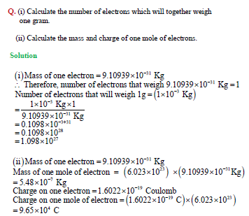 NCERT Solutions for CBSE Class 11: Structure of Atom