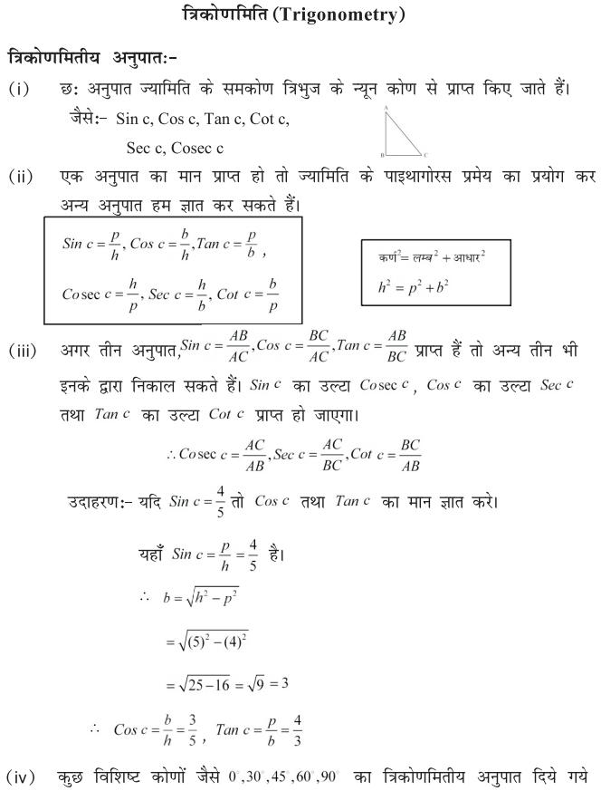 bihar board maths