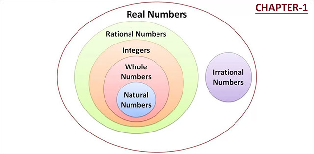 NCERT CBSE Class 10th Maths Chapter 1 - Real Numbers