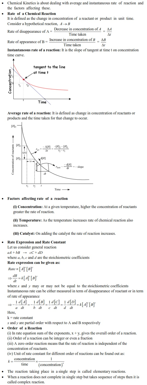 UPSEE Chemical Kinetics