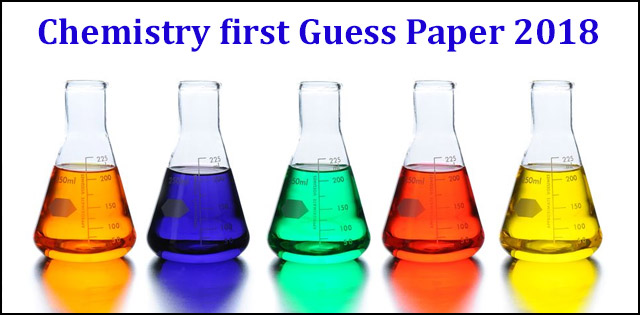 Class 12th Chemistry First Solved Guess Paper