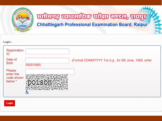 Chhattisgarh CG SET Admit Card 2019 Released, Direct Link