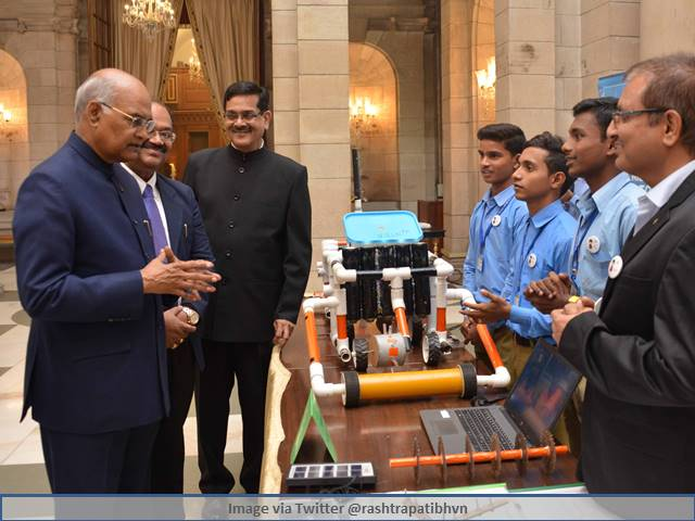 Children's Day 2019: President Kovind meets young student innovators from Atal Tinkering Labs