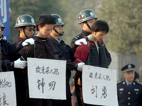 china death penalty
