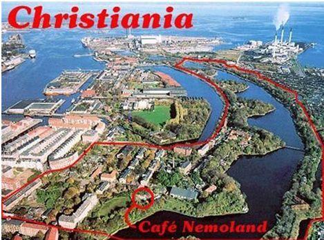 chirstiania location